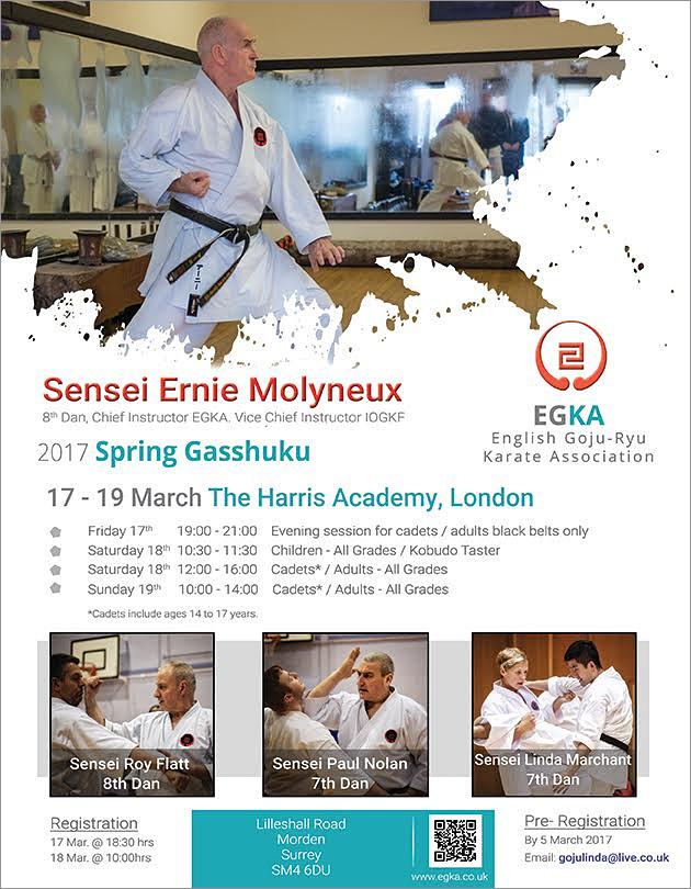 EGKA Spring Gasshuku 2017